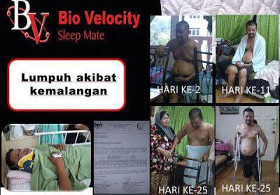 BIO VELOCITY SLEEP MATE RAWATAN LUMPUH