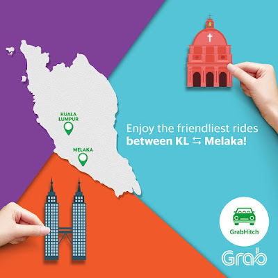 Grab Malaysia Promo Code Discount GrabHitch Ride Melaka KL