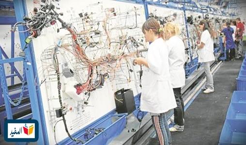تشغيل 100 عاملة كابلاج لصناعة السيارات بمدينة الدار البيضاء