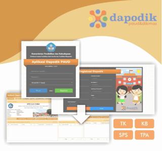 Aplikasi DAPODIK PAUD-DIKMAS Terbaru  DapoPaud Ver.3.1.0
