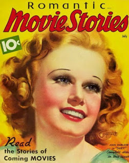 Jean Harlow Magazine Cover