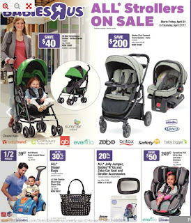 Babies R Us Flyer April 21 – 27, 2017