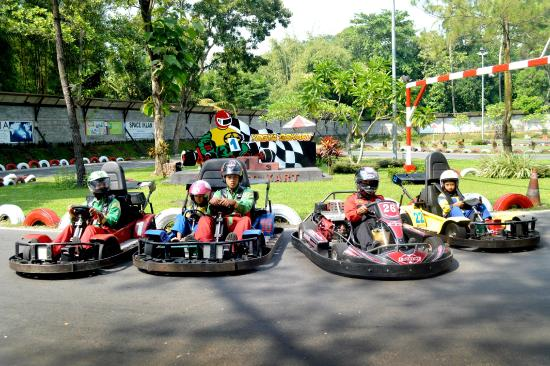 Wahana Permaianan di Kids Fun Yogyakarta
