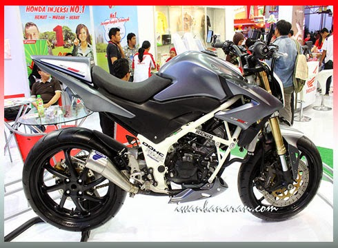 Modifikasi CB150R Streetfighter Terbaru