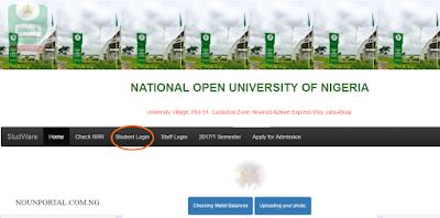 noun student portal login