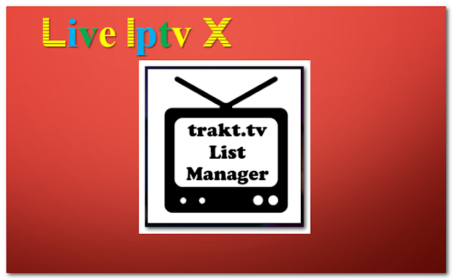 Trakt.tv List Manager tv show addon