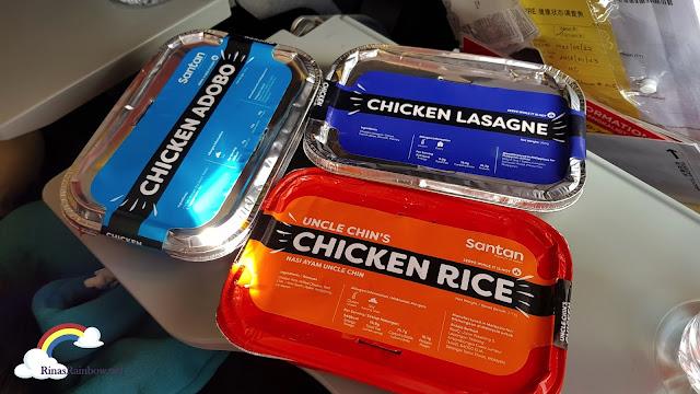 Air Asia Santan Meals