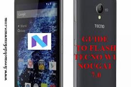 Guide To Flash Tecno Pop 1 F3 Nougat 7 0 MT6580 Using Mtk SP Flashtool