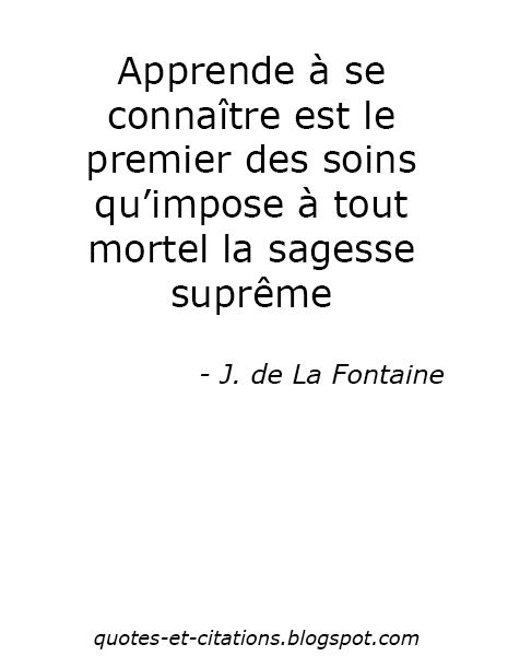 Citation La sagesse suprême