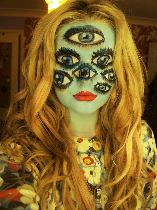 Quot Third Eye Quot Multi Eyed Makeup Halloween Tutorial