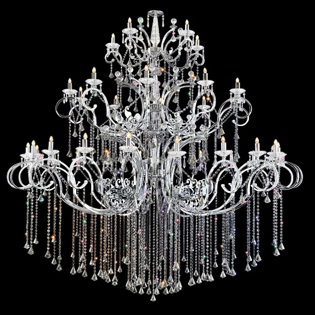 plug in chandelier silhouette ideas
