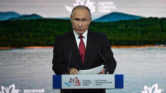 """Putin: EEUU pide mucho a Corea del Norte y """"no da nada a cambio"""""""