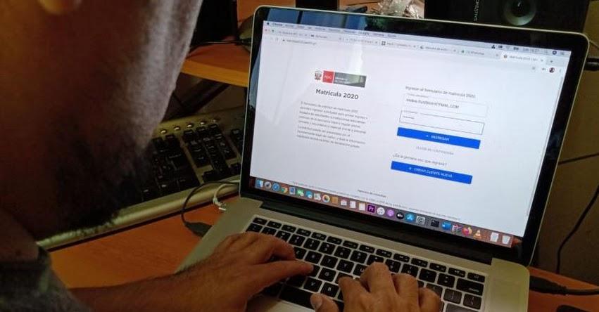 PLATAFORMA VIRTUAL MINEDU: Hasta el 22 de mayo se podrá solicitar traslado de estudiantes a colegios públicos - www.matricula2020.pe