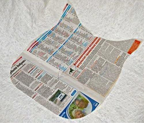 pola boneka owl dari kain perca dari koran