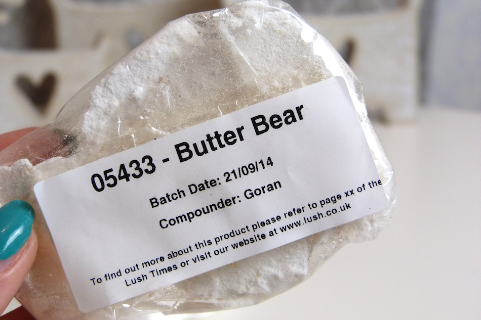 an image of Lush Butterbear review