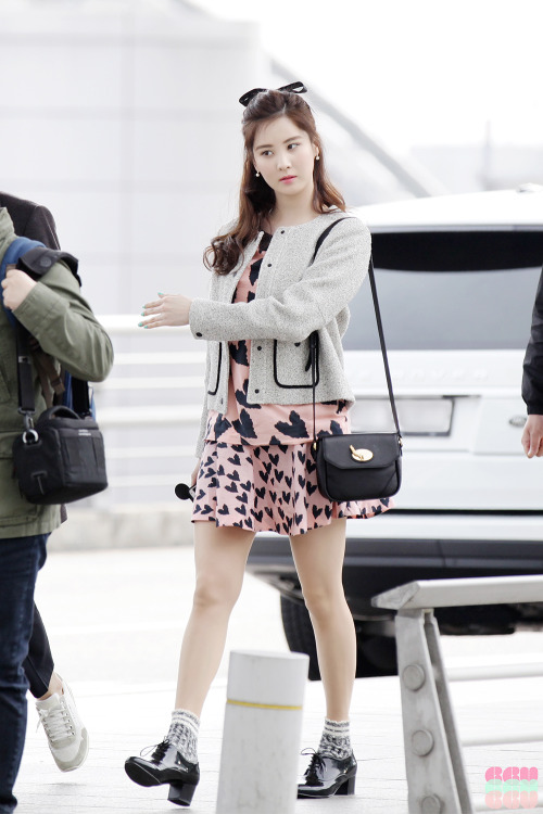 30 Airport Fashion Seleb Wanita Korea Terbaik 2016/2017 ...