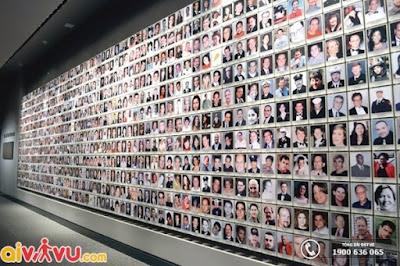 Du khách có cơ hội để tìm hiểu về cuộc sống của mỗi nạn nhân trong cuộc tấn công năm 2001 và 1993.