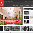 Paula Magazine Wordpress Theme - Templates Doctor | Free Blogger Templates For Your Own Blog