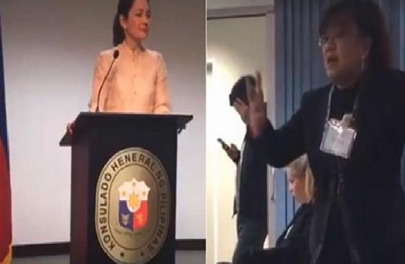 WATCH: OFWs to Hontiveros: Paano namin mababago ang imahe ng Pilipinas kung sinisira niyo?