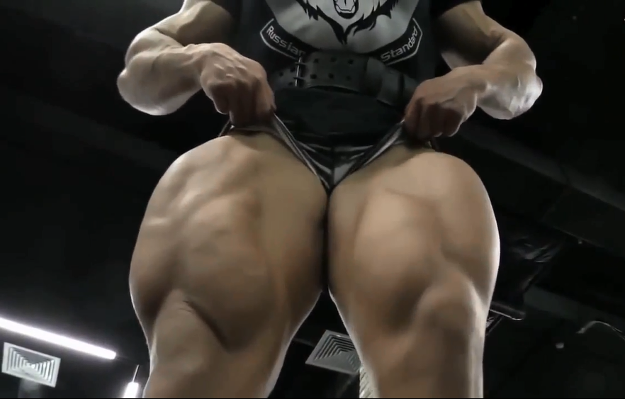 Natalia Kuznetsova is one of the most muscular women in Russia (video) :
