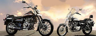 Tiga model Avenger dari Bajaj