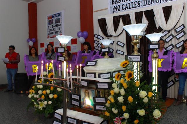 Este sábado 25 de noviembre marcha contra la violencia hacia la mujer