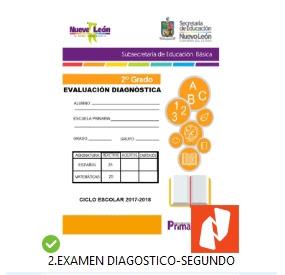 2do grado primaria Examen de Diagnostico