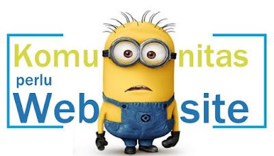 Komunitas Juga Butuh Website!!!