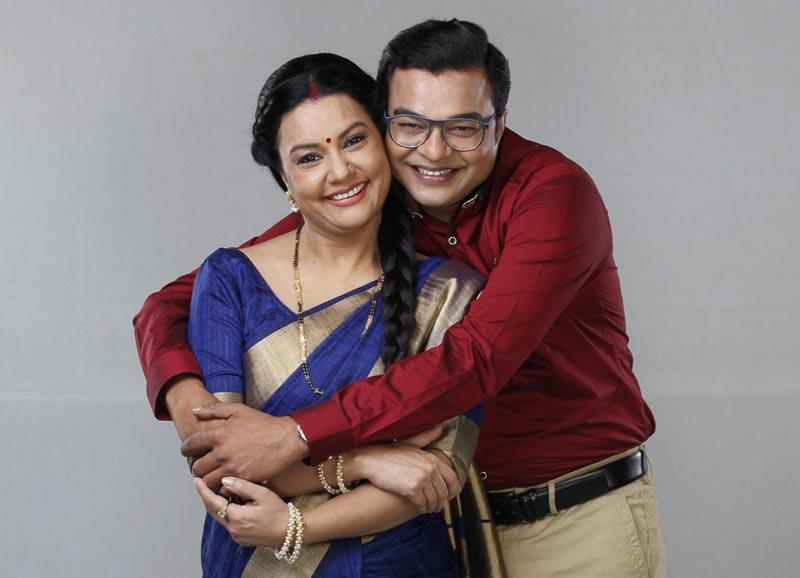 Sucheta Khanna as Koki and Samir Shah as Keku in show Shrimaan Shrimati Phir Se