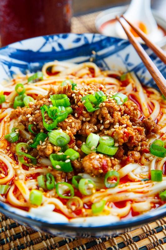 Dandan Noodles (Tantanmen Ramen)