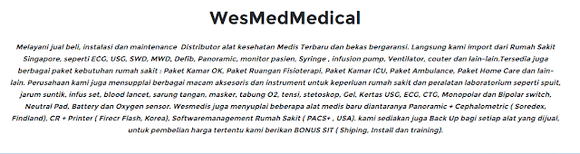 Distributor alat kesehatan Medis Terbaru Murah