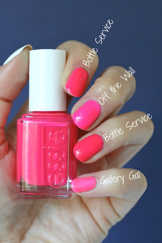 Essie Neons 2016 - Off the Wall Collection : Swatches, Review ...