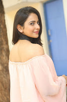 Rakul Preet Singh in lovely Pink Crop Top and Black Trousers at Jaya Janaki Nayaka success meet 022.JPG