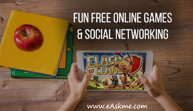Fun Free Online Games & Social Networking: eAskme