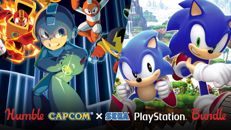 capcom sega humble bundle playstation