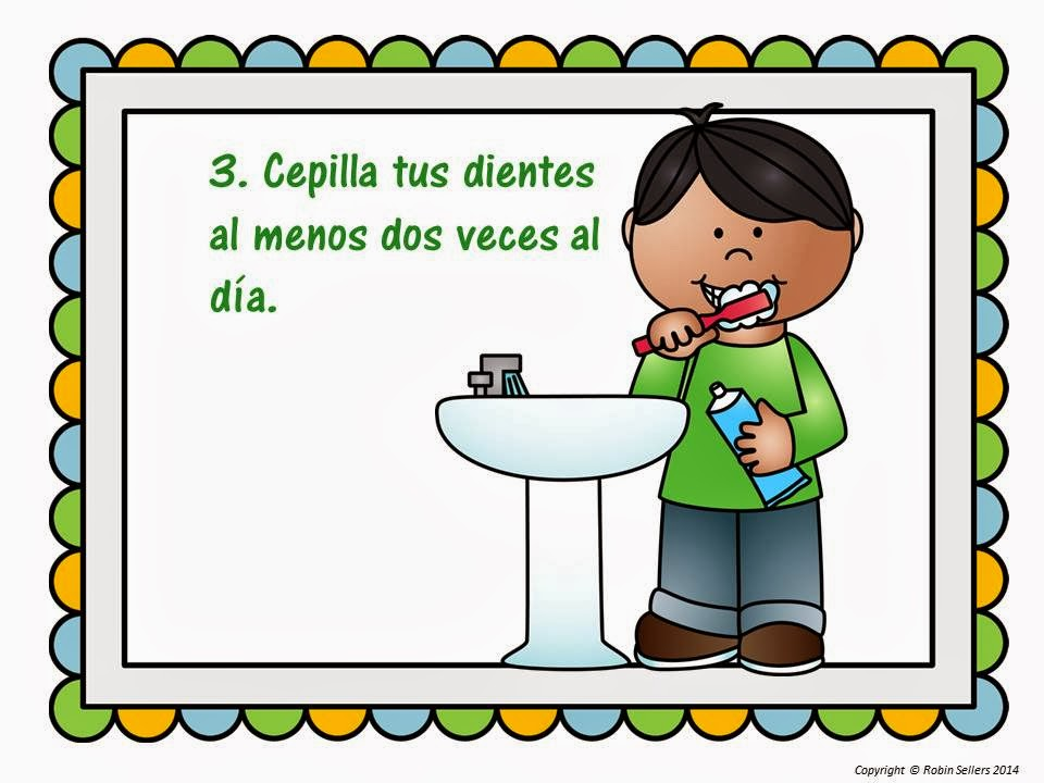 dental health printable in spanish