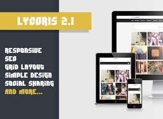 Download Template Lycoris 2.1 Gratis