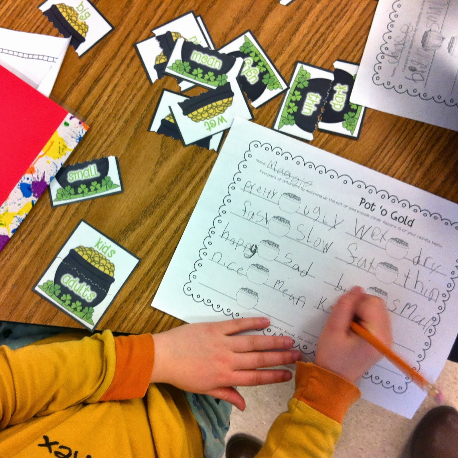 Fun With Firsties St Patty S Centers Amp Activities Week 1