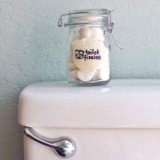Homemade Toilet Bomb Fizzies
