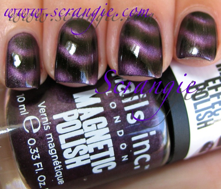 Scrangie Nails Inc Magnetic Polish In Houses Of Parliament Swatches And Review