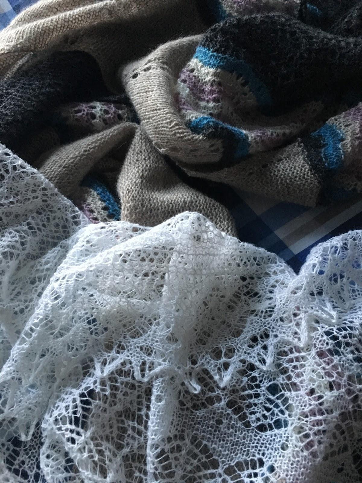 Rubysasha Twirl Scarf And Solstice Shawl Pattern Release