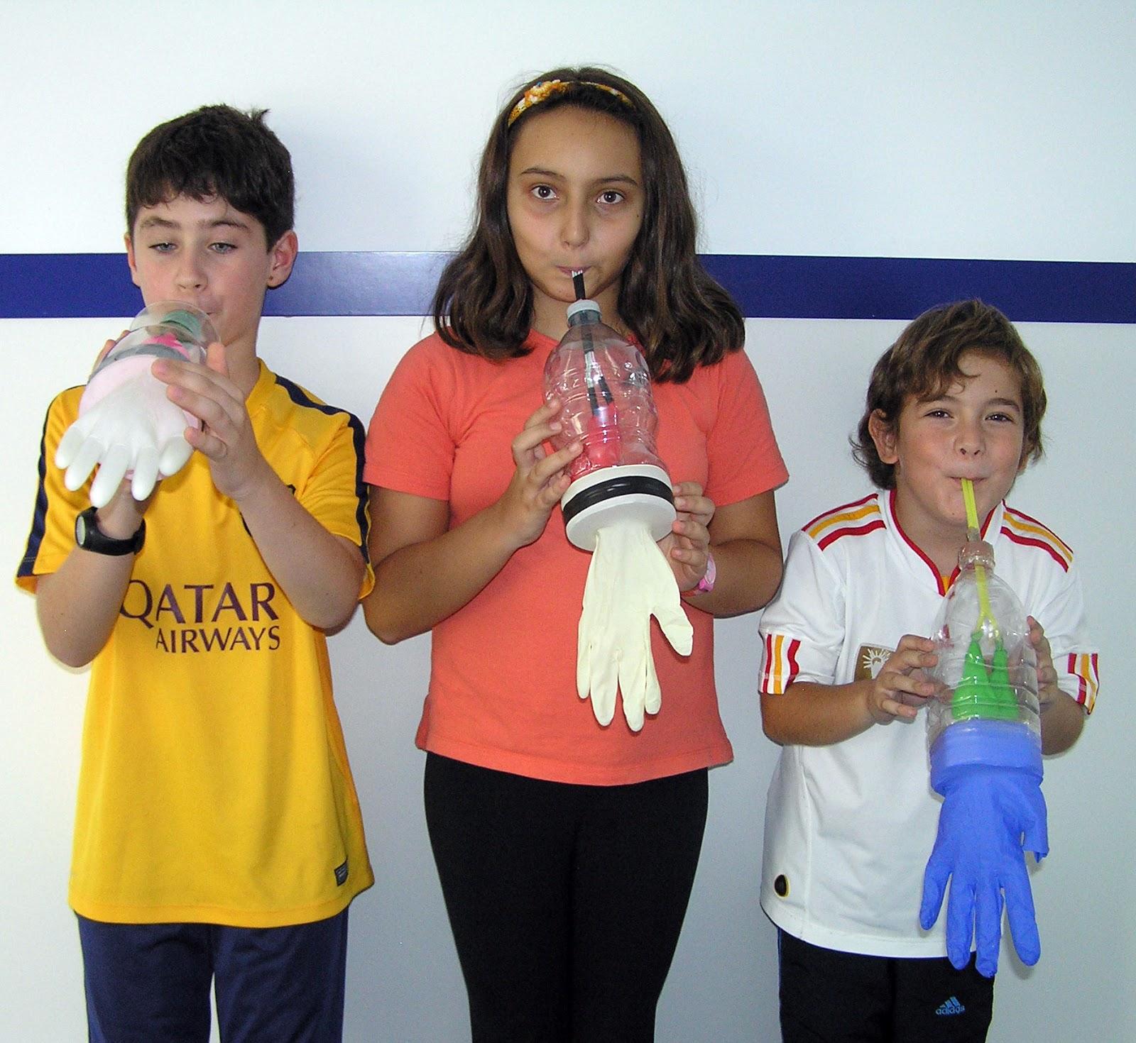 Cosas De Ninos Para La Escuela Experimento Con Unos Pulmones De - Experimentos-para-nios-con-globos