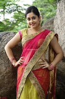 Actress Ronika in Red Saree ~  Exclusive celebrities galleries 033.JPG