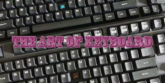 The Art of Keyboard: CM Storm QuickFire Blue