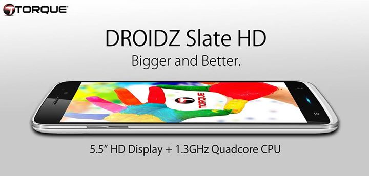 Torque DROIDZ Slate HD Specs, Price and Availability