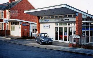 Ladysmith Road garage, Exeter