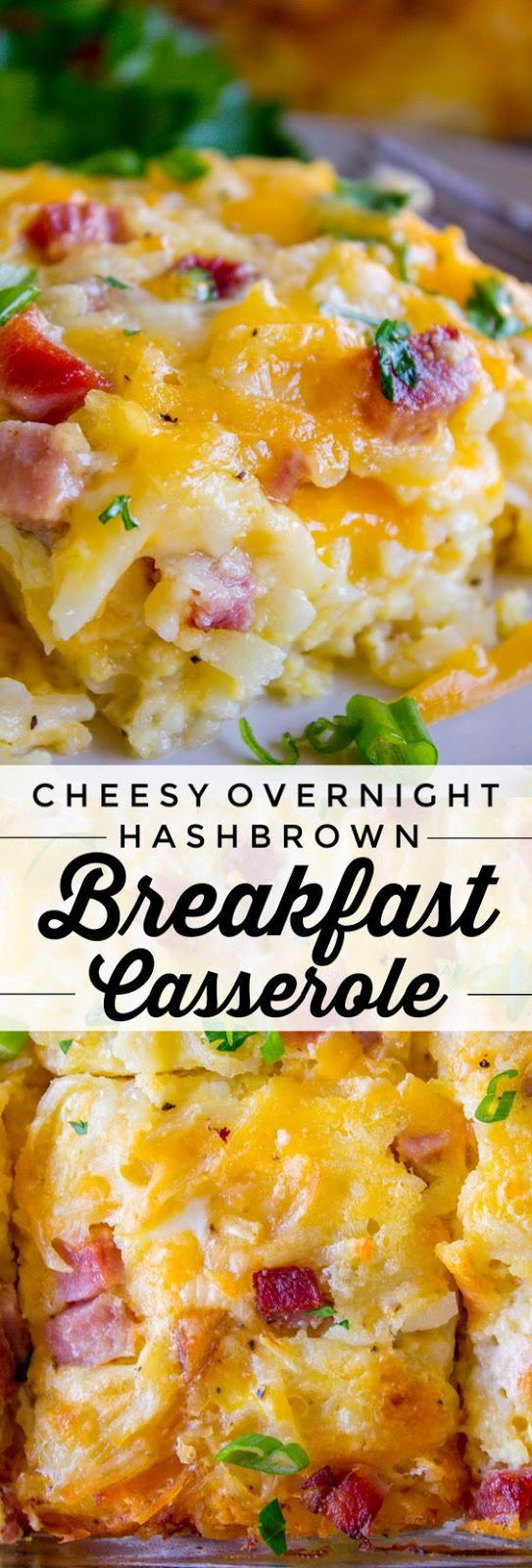 Perfect Breakfast Casserole with Potatoes and Ham