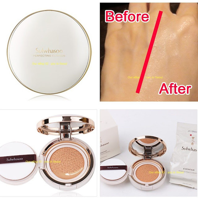 review mỹ phẩm, feedback mỹ phẩm, review sulwhasoo, sulwhasoo pefecting cushion brightening
