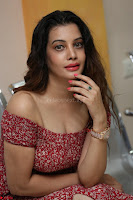 Diksha Panth in a Deep neck Short dress at Maya Mall pre release function ~ Celebrities Exclusive Galleries 134.JPG