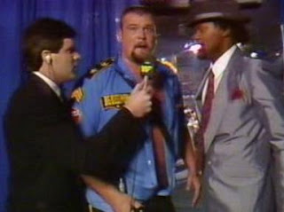 WWF / WWE SURVIVOR SERIES 1989 - The Big Boss Man cuts a promo